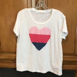 Sundry heart t-shirt